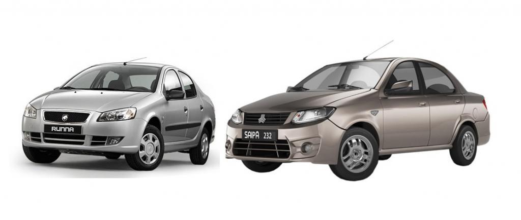 مقایسه رانا و ساینا، ایران خودرو رانا بهتر است یا سایپا ساینا؟