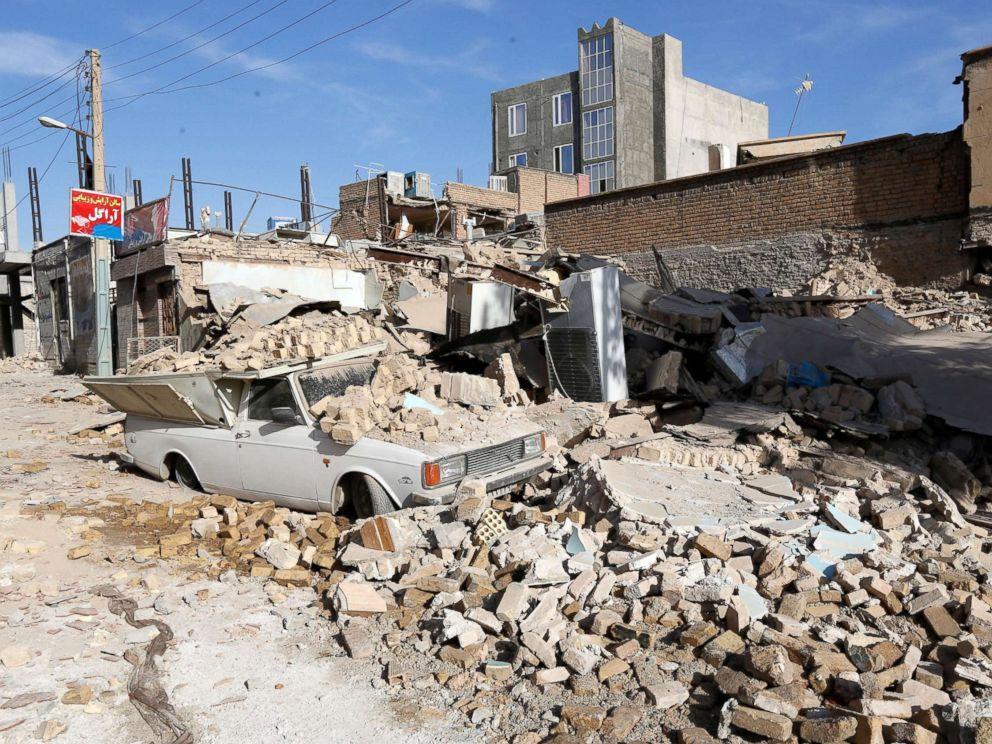 زلزله کرمانشاه، مرگبارترین زلزله سال 2017 جهان لقب گرفت