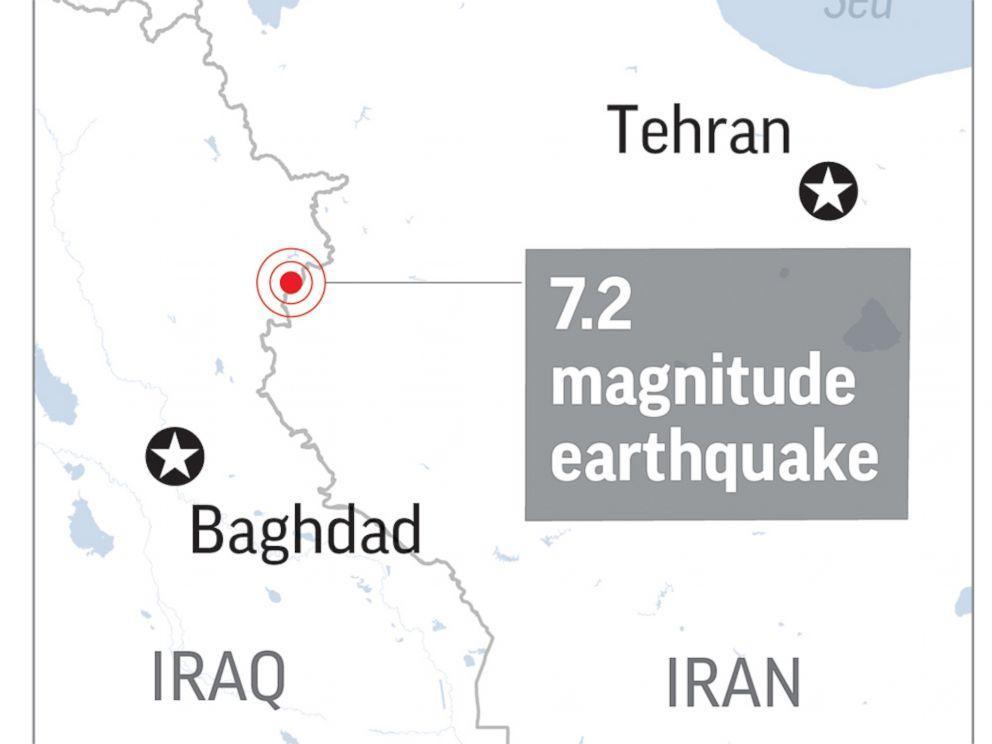 زلزه کرمانشاه، مرگبارترین زلزله سال 2017 جهان لقب گرفت