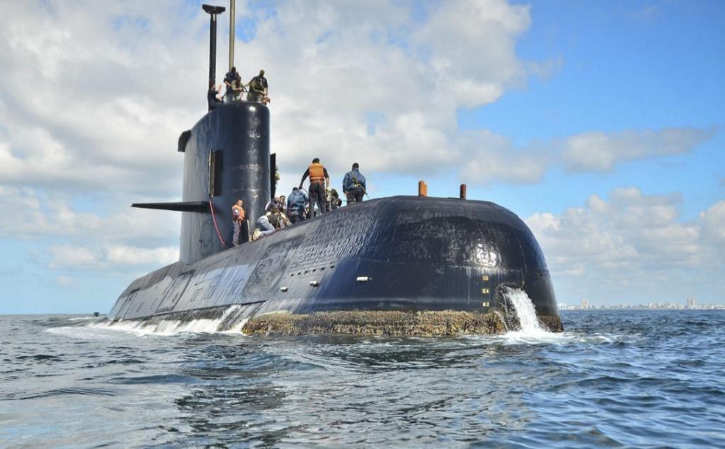 یک زیردریایی ارتش آرژانتین، گم شد!