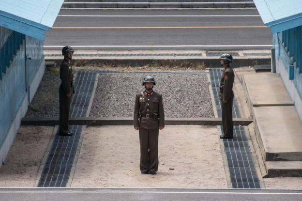 فرار سرباز کره شمالی