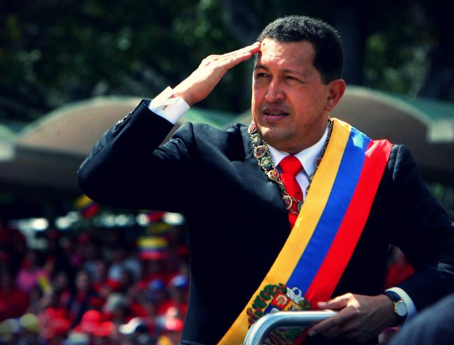 تصویری : چاوز و پروژه سمند احمدینژاد!