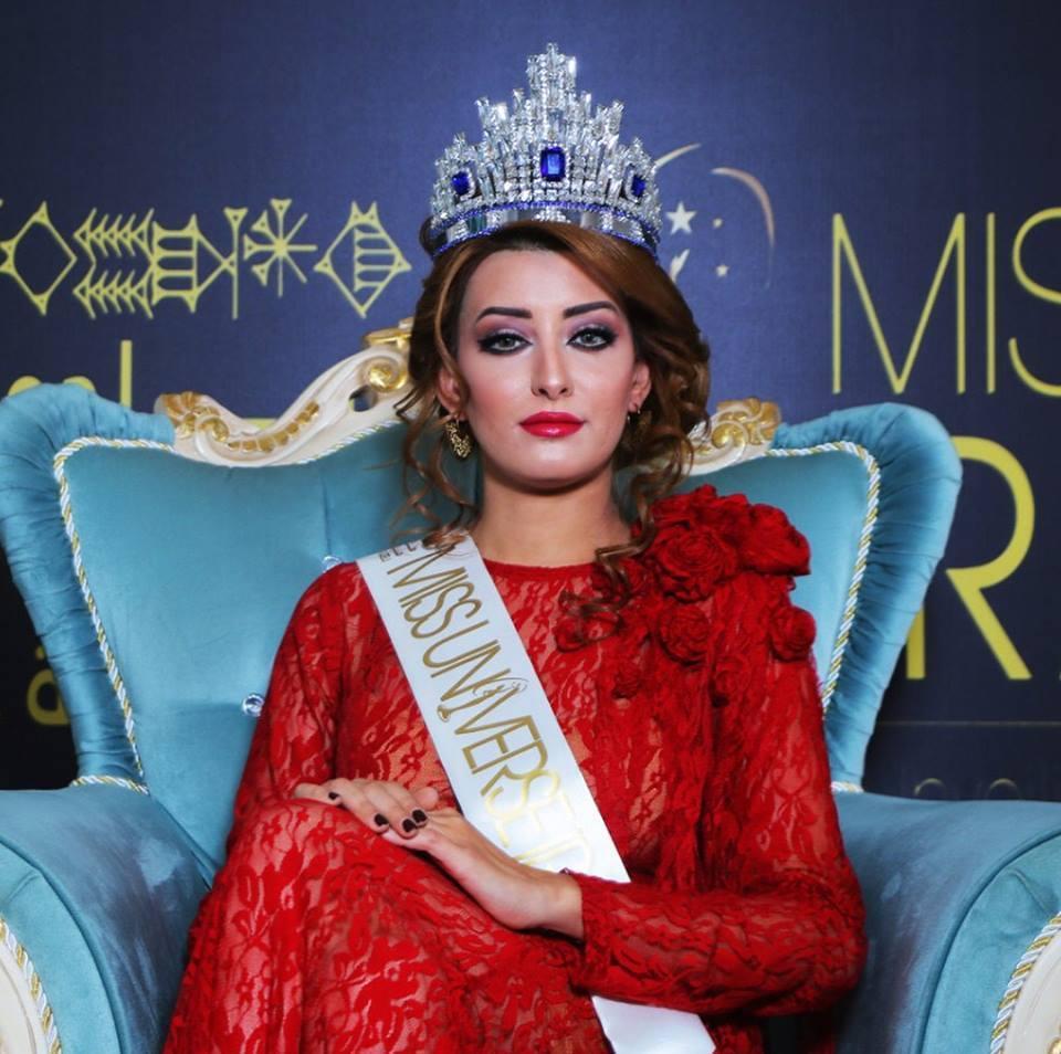 عکس سلفی با زن اسرائیلی، برای ملکه زیبایی عراق گران تمام شد