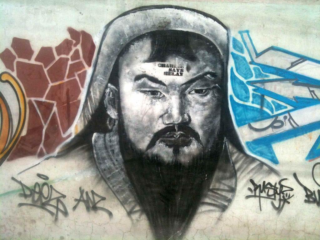جوان مغول، بدلیل اهانت به چنگیزخان، به یک سال زندان محکوم شد!