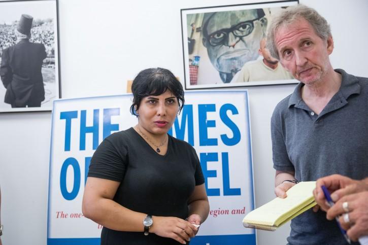 اسرائیل از یک زن وبلاگ نویس بدلیل ارتباط با ایران بازجویی می کند