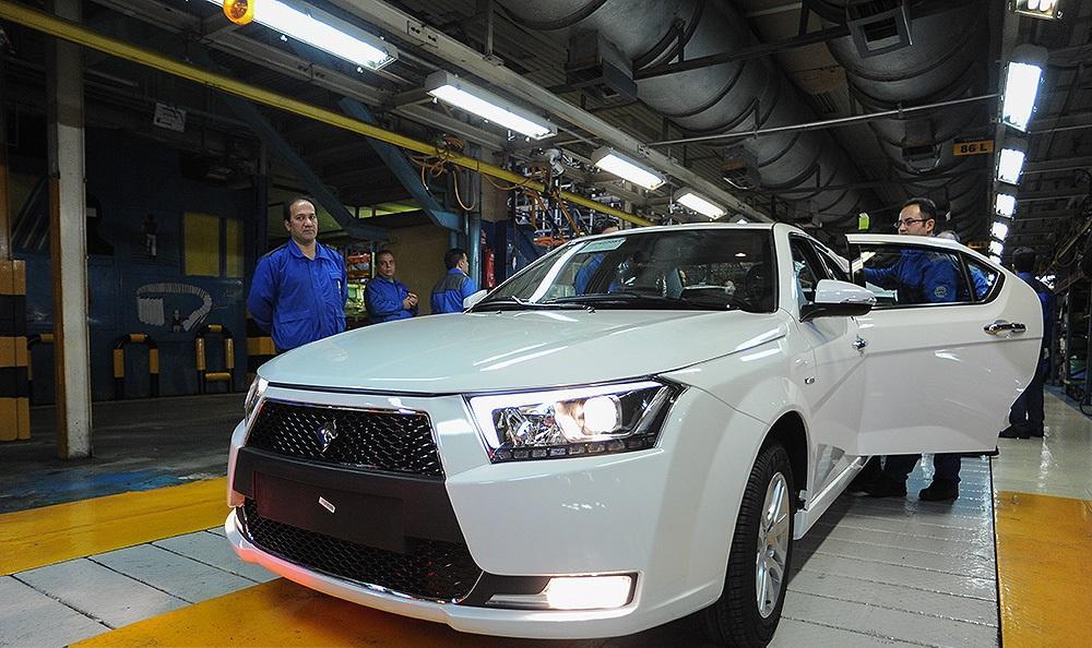 رونمایی از محصولات جدید ایران خودرو / خط تولید پلاس توربو شارژ با حضور علی لاریجانی افتتاح شد
