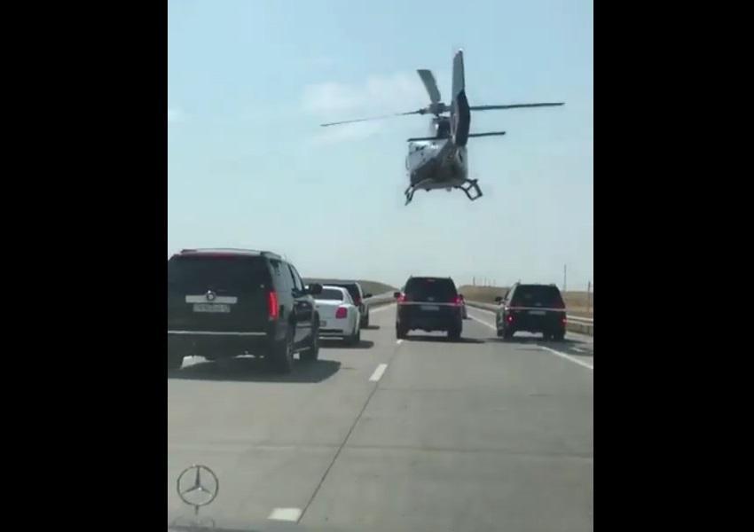 کاروان هلیکوپتر و خودروهای لوکس در یک عروسی را تماشا کنید