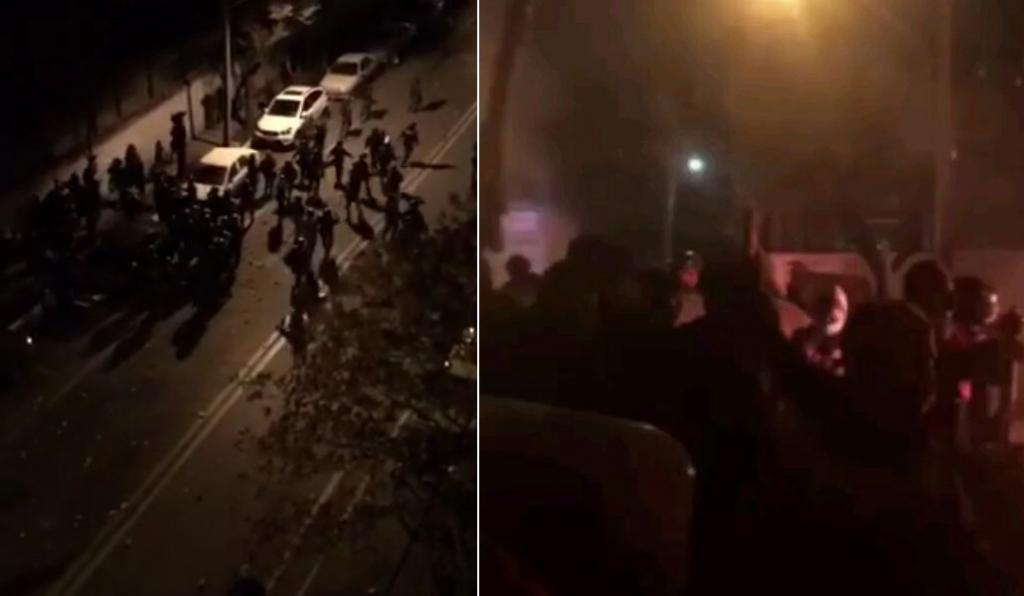 ویدیویی از لحظه حمله اتوبوس به ماموران پلیس و شهادت 3 مامور