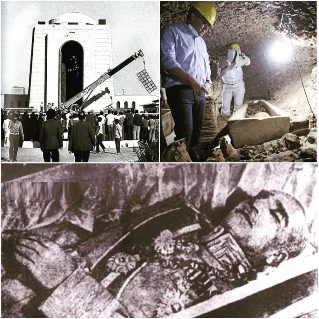 کشف جسد مومیایی در شهر ری / جنازه مومیایی در حرم عبدالعظیم متعلق به کیست؟