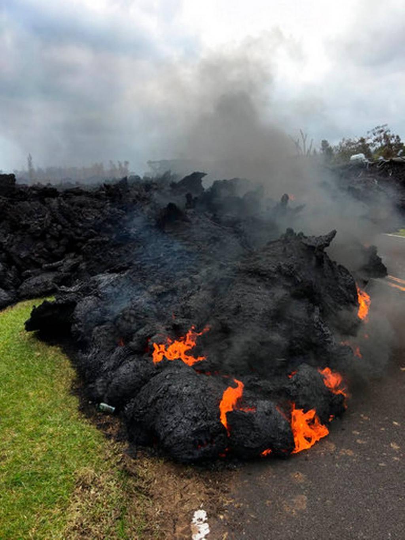 هاوایی در مواد مذاب / تصاویر فعالترین آتشفشانهای جهان را ببینید