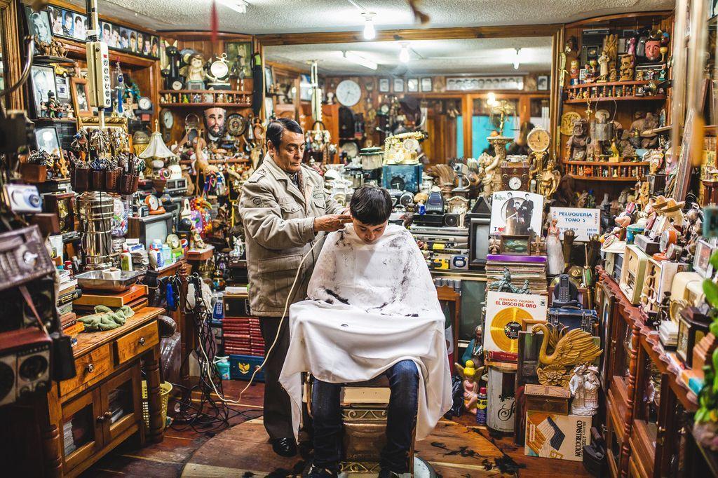 یکی از جالب ترین آرایشگاه های دنیا را ببینید