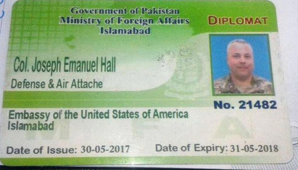 اشتباه یک سرهنگ آمریکایی، در پاکستان جنجال به پا کرد