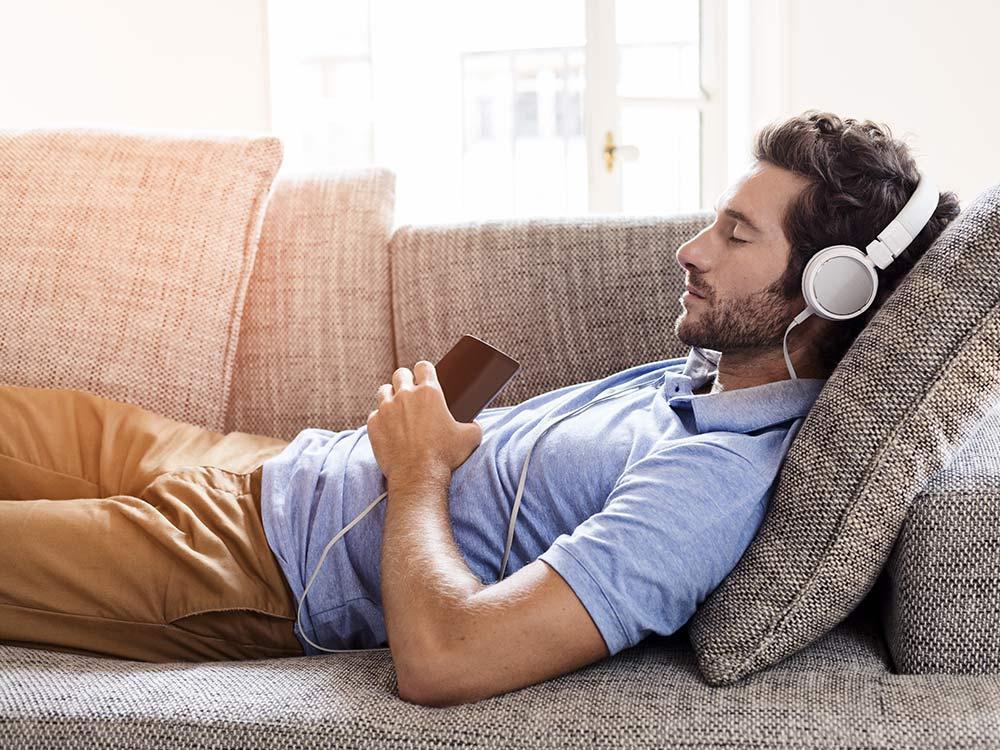 خواب موسیقی گوش دادن