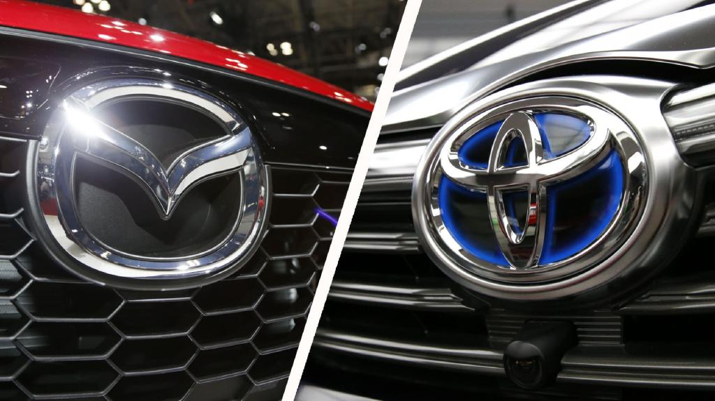 همکاری تویوتا و مزدا برای تصاحب بازار خودروی آمریکا
