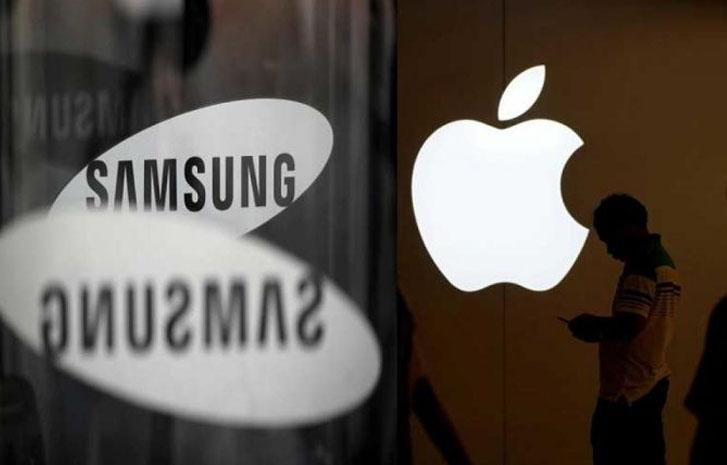 شرکت سامسونگ 540 میلیون دلار غرامت به اپل می پردازد