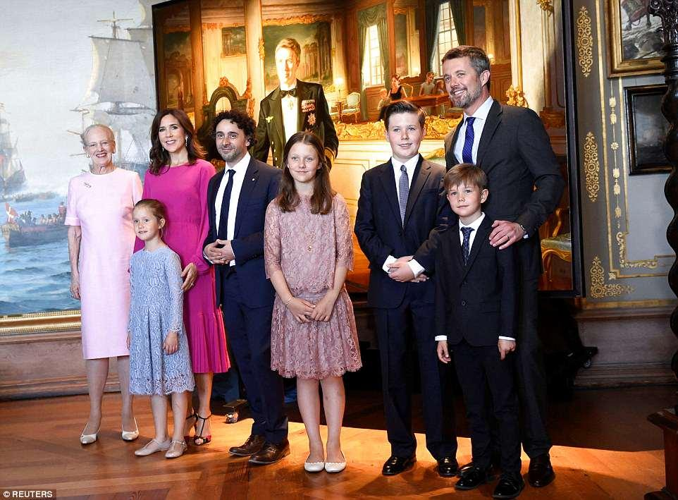 جشن تولدی ویژه، برای پادشاه بعدی دانمارک!