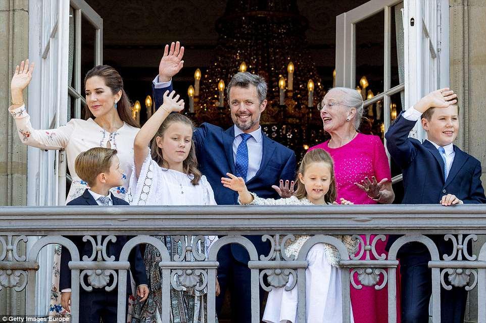 جشن تولدی ویژه، برای پادشاه آینده دانمارک!