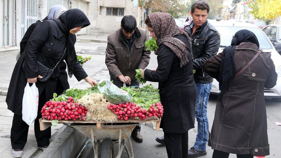 بازار پرسود سبزی فروشی با چرخ دستی در تهران