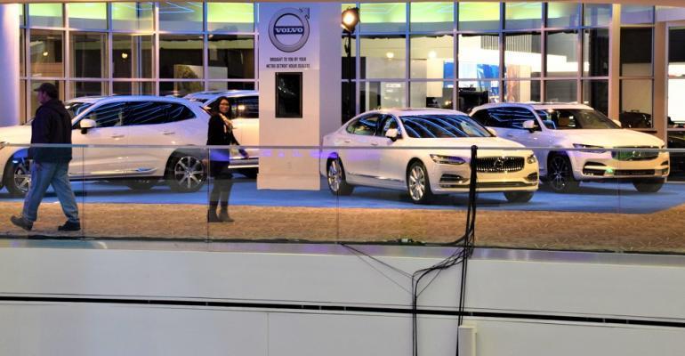شرکت ولوو، حضور در نمایشگاه خودروی ژنو را بی فایده اعلام کرد