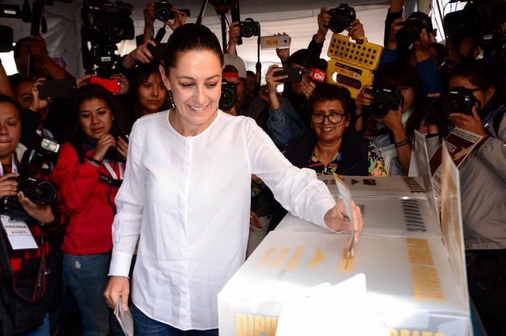 یک زن برای اولین بار شهردار پایتخت مکزیک شد