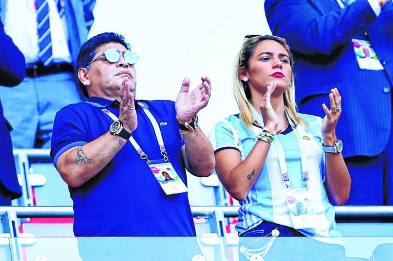 دیگو مارادونا : حاضرم بدون دستمزد سرمربی تیم ملی آرژانتین شوم