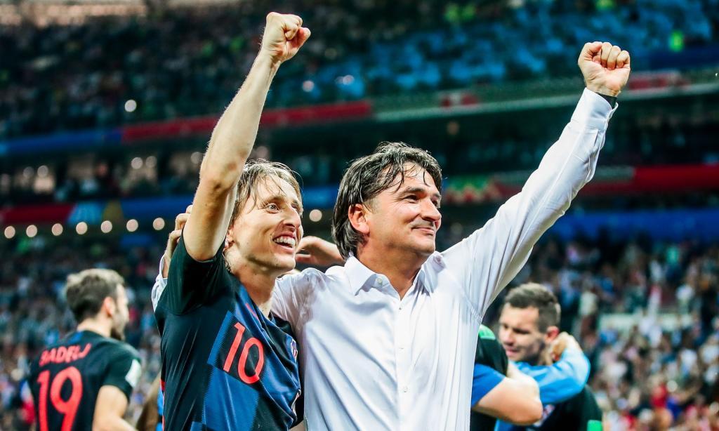 تیم ملی کرواسی برای اولین بار به فینال جام جهانی راه یافت + آلبوم عکس