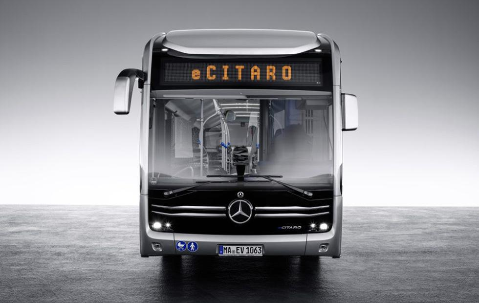 اتوبوس مدرن مرسدس بنز رونمایی شد