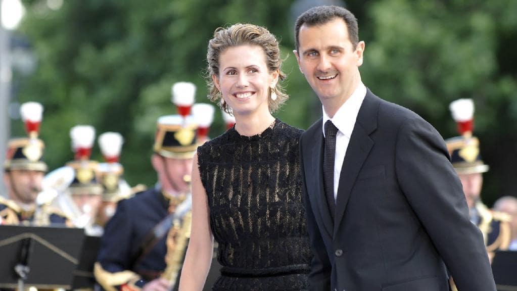 همسر بشار اسد سرطان پستان دارد
