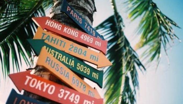 A little trip around the world