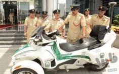 خودروهای آبی خاکی پلیس دوبی