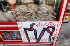 قیمت روز گوشت مرغ در بازار تهران + افزایش قیمت ها