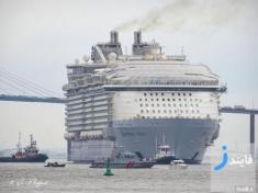 قیمت جدیدترین و بزرگترین کشتی تفریحی جهان
