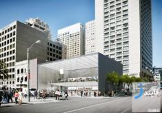 افتتاح فروشگاه جدید شرکت اپل Apple با طراحی متفاوت