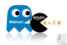 رقابت شرکت وال مارت و آمازون برای تصاحب بازار آمریکا