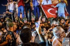 آلبوم عکس کودتا ارتش ترکیه + زندگینامه اردوغان از نان کنجد فروشی تا ریاست جمهوری