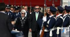 گزارشی از ولخرجی رجب طیب اردوغان و همسرش + عکس