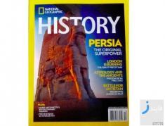 انتشار تاریخچه امپراتوری پارس توسط مجله نشنال جئوگرافیک