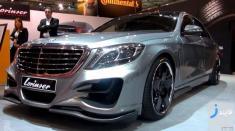 تست رانندگی با مرسدس بنز S500 گران قیمت ترین خودروی ایران