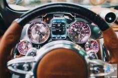 تجربه رانندگی و استارت زدن سوپر ماشین پاگانی هیورا