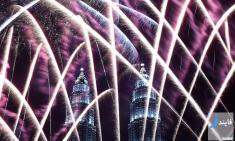 آلبوم عکس جشن های سال نو میلادی در سرتاسر جهان