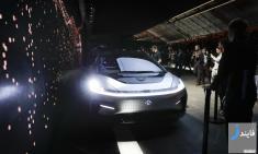 رونمایی از سریع ترین خودروی برقی خودران جهان در نمایشگاه CES 2017