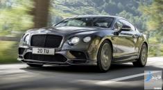 تصاویر و مشخصات فنی بنتلی کانتیننتال GT مدل 2018 / قدرتمندترین خودروی شرکت بنتلی