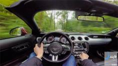 تجربه رانندگی با فورد موستانگ جی تی مدل 2016 در جاده جنگی