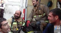 کشف اجساد آتش نشانها در پلاسکو + زمان مراسم تشییع پیکر