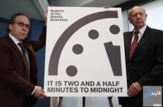 لحظه پایان جهان با ورود دونالد ترامپ سی ثانیه کاهش یافت