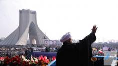 پاسخ ترامپ به سخنان حسن روحانی در مراسم 22 بهمن
