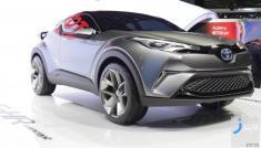 شاسی بلند جدید تویوتا C-HR مدل 2017 در نمایشگاه خودرو تهران