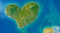 تصاویری دیدنی از جزیره عشاق در کرواسی