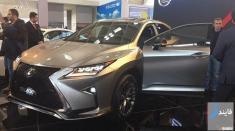 لکسوس 400 میلیون تومانی در نمایشگاه خودرو تهران