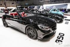 بنز باراباس 850 لوکس در نمایشگاه خودرو ژنو 2017